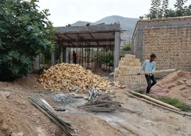 احداث زیرساخت های گردشگری در روستای زمان صوفی خراسان شمالی