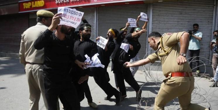 فیلم، حمله پلیس هند به عزاداران حسینی در کشمیر