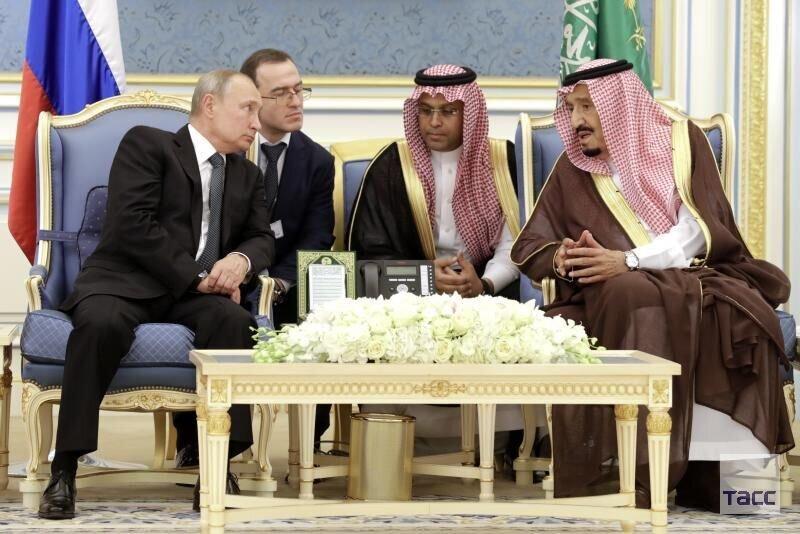 پوتین: روسیه خواستار گسترش روابط با عربستان است