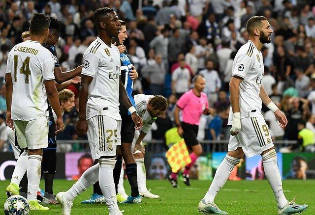 شکست رئال مادرید 10 نفره در لالیگا، بارسلونا صدرنشین شد