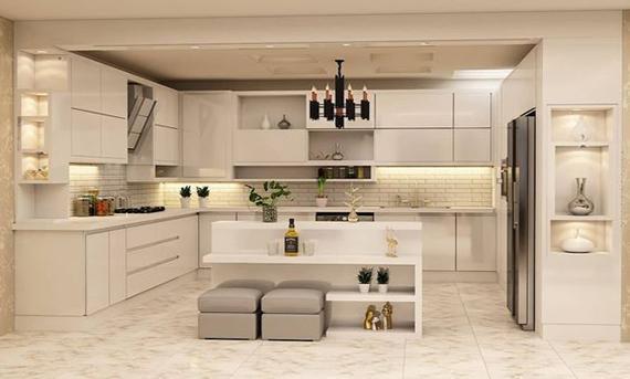 تأثیر کابینت در طراحی دکوراسیون آشپزخانه