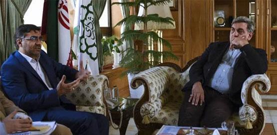 نشست مشترک مدیر ایرانسل و شهردار تهران