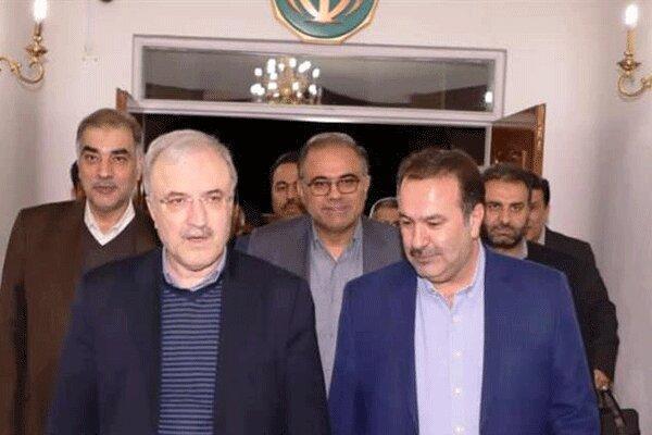 افتتاح کلینیک ویژه بیمارستان سپیدان توسط وزیر بهداشت
