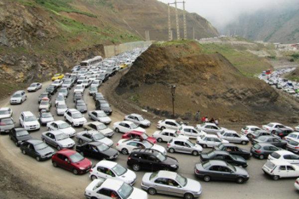 ترافیک سنگین در محور کرج-چالوس ، شرایط سایر محور ها