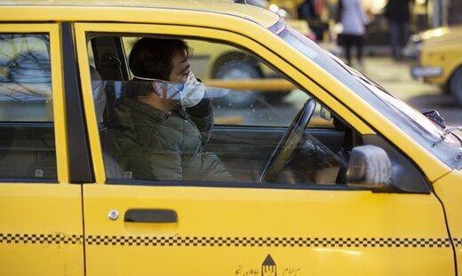 بیش از دو مسافر در جایگاه عقب تاکسی ها سوار نشوند