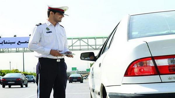 جریمه 500 هزارتومانی 5000 راننده که اصرار به سفر داشتند